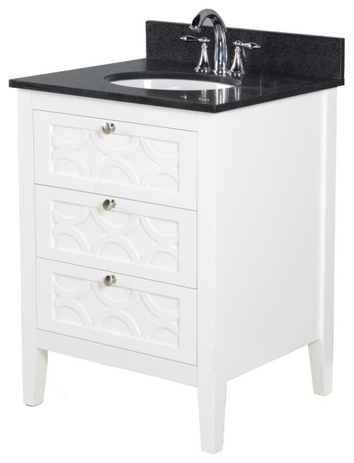 Overall 25 Inch Long And 19 Inch Long Bathroom Counter Top Sink Combo