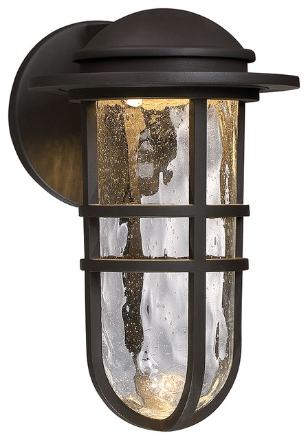 Steampunk LED Indoor or Outdoor Wall Light - Beach Style ...