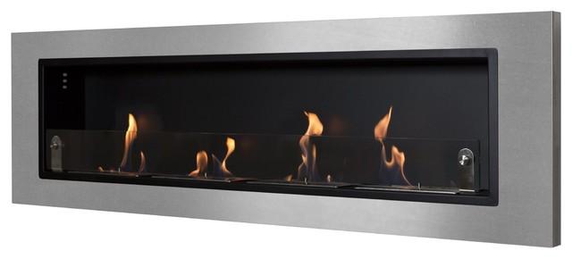 Nu Flame Ventana Quatro 63 Wall Mounted Ethanol Fireplace Nf