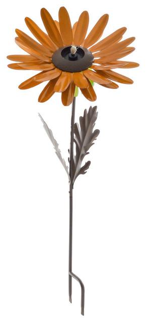 Orange Daisy Garden Torch