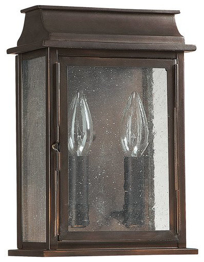 Capital Lighting Bolton Traditional Outdoor Wall Sconce.