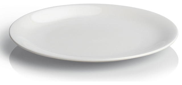 Alessi dinnerware all time side plates set of 4 modern - Alessi dinnerware sets ...