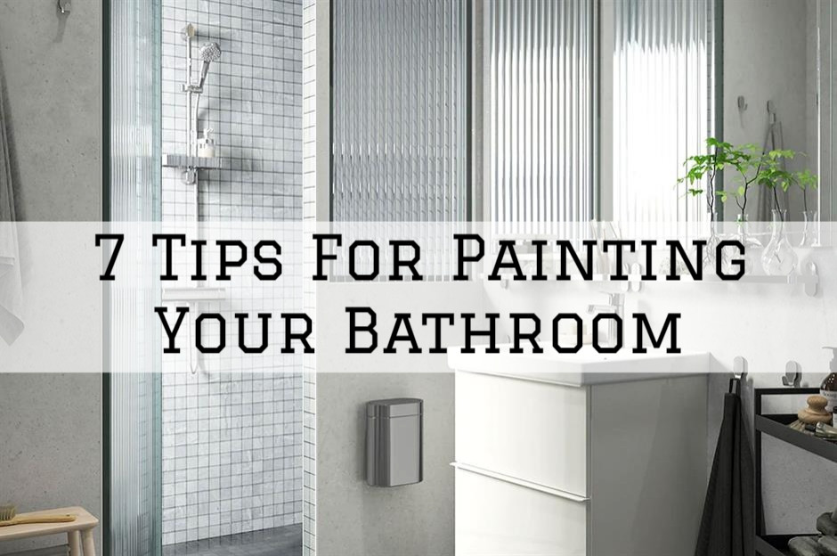 14-08-2021 Steves Quality Painting And Washing Princeton WI tips for painting your bathroom