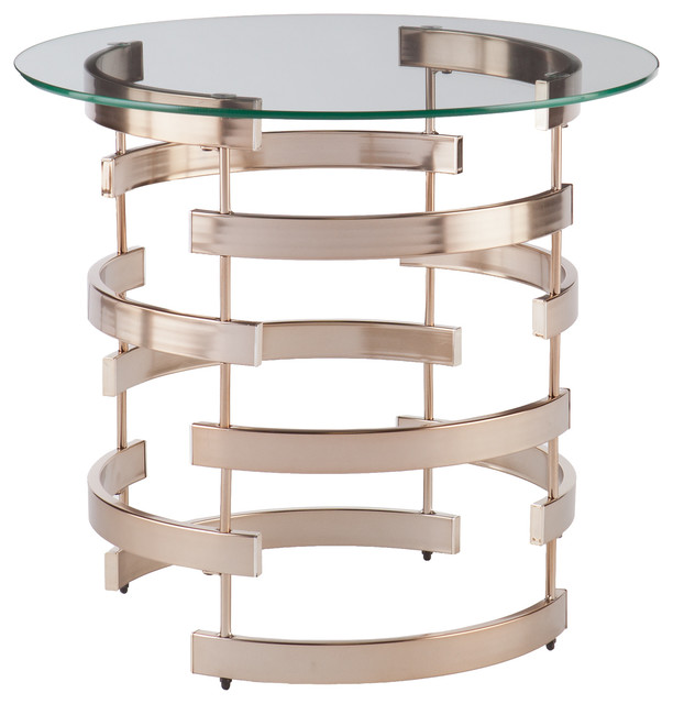 Rissa End Table Contemporary Side Tables And End Tables