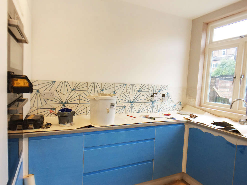 Kitchen Dining-room – Muswell Hill, in progress