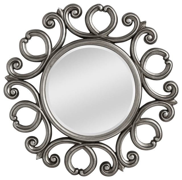 Contoured Wall Mirror.
