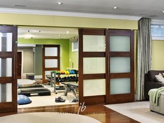 Fitnessraum modern  Jennifer Brouwer Design In. - Modern - Fitnessraum - Toronto - von ...