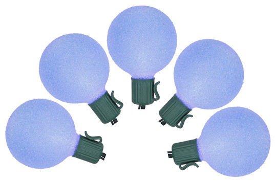 battery operated sugaled g50 christmas lights set of 10 blue