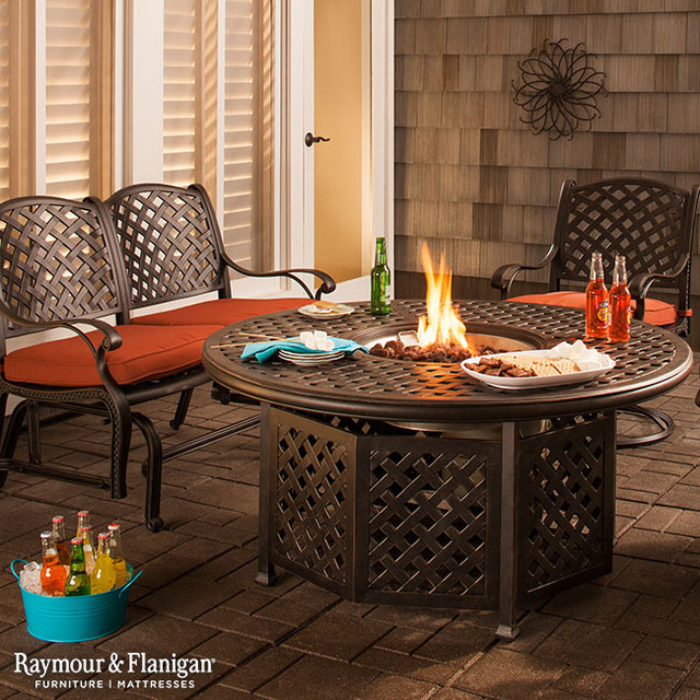 Raymour And Flanigan Dining Room Sets Moreaux Fire Pit Set Patio