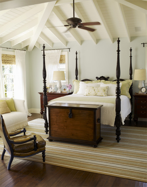 9 ways to bring home a little british colonial style - White colonial bedroom furniture ...