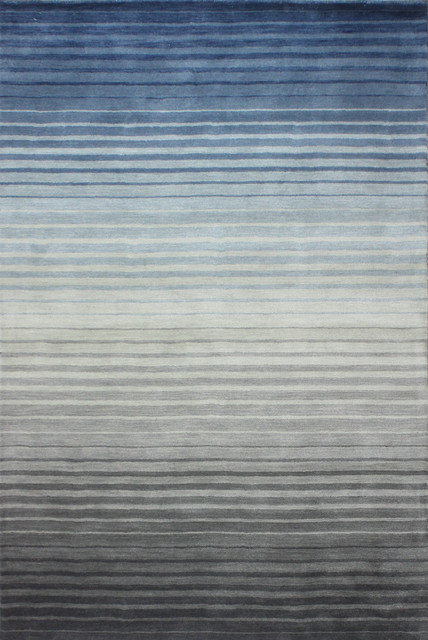 Bashian Buena Park Area Rug Gray/blue, 7&x27;6x9&x27;6.