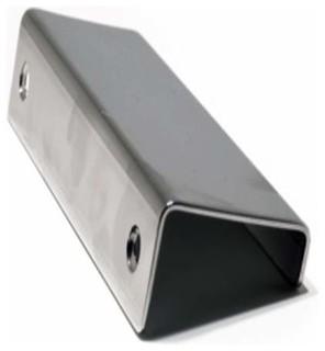 Richelieu Contemporary Aluminum Edge Pull 25mm Aluminum ...