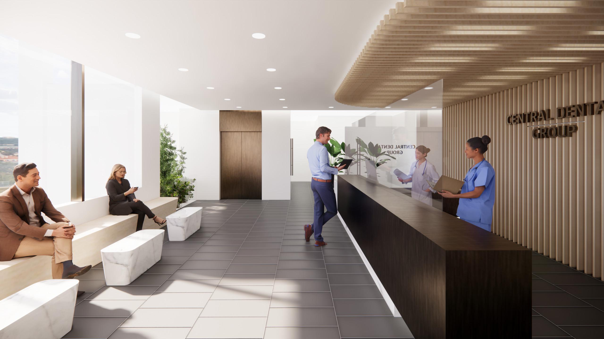 Modern Interior - Dental Clinic CDG