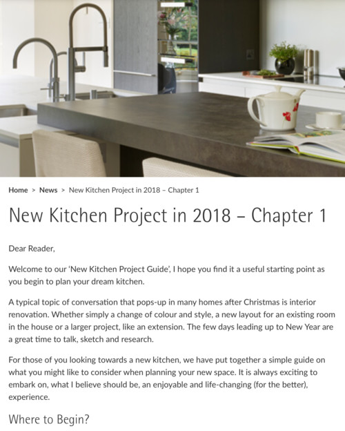 Getting Started With Your New Kitchen Project   Ideas U0026 Questions