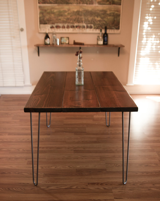 6ft Hairpin Dining Table Modern Dining Tables