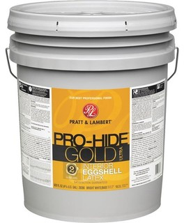 Pratt And Lambert Pro Hide Gold Ultra Latex Eggshell Interior Wall Paint Paint By Hipp