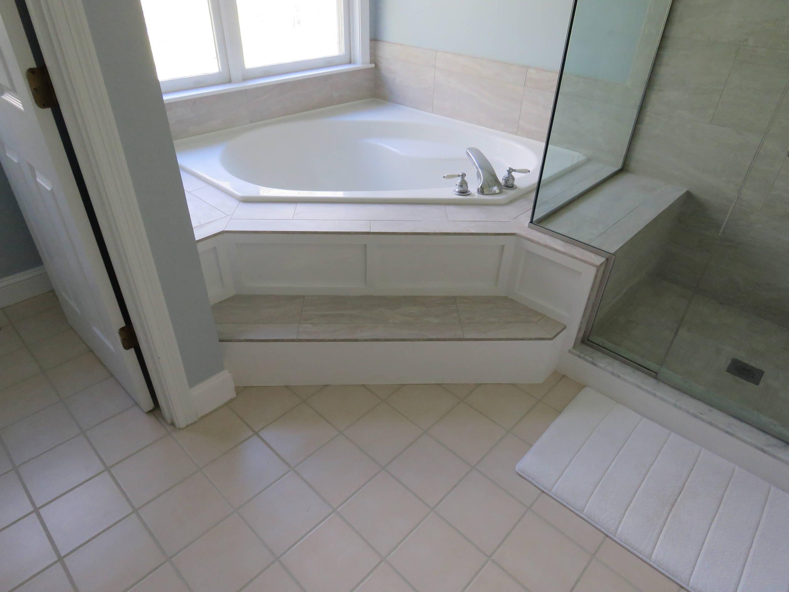 Transitional Master bath update
