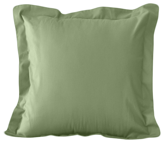 Euro Size Tailored Pillow Sham in Surf By AB Lifestyles