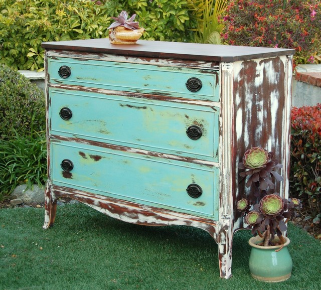 custom painted furniture eclectic furniture orange county by