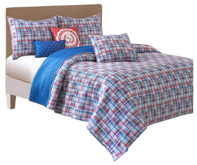 southern tide legacy king multi quilt - contemporary - kids