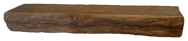 """Punky Hill Distressed Shelf, 36""""x6""""x3"""", With Bracket"""