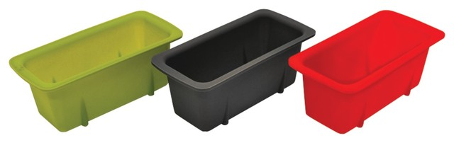 Starfrit Silicone Mini Loaf Pans, Set Of 3.