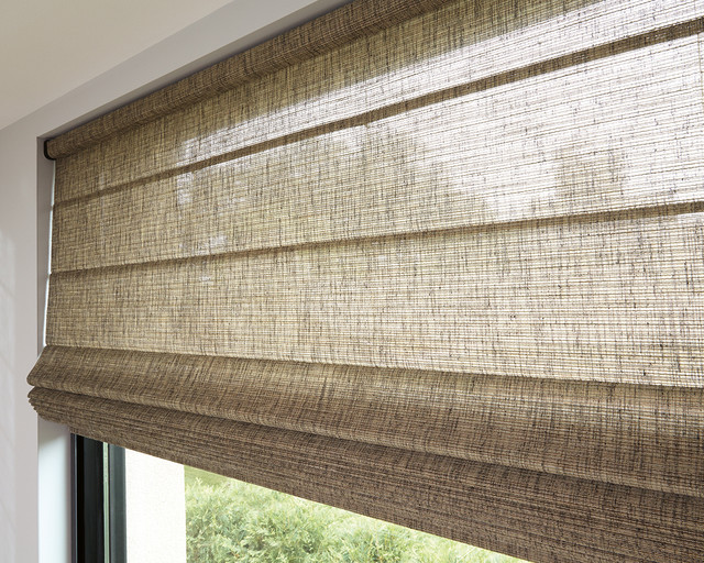 hunter douglas alustra woven textures roller shades and roman shades