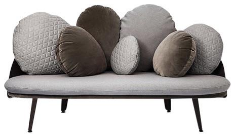 Nubilo Sofa, Gray.