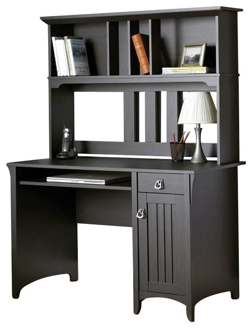 Bush Furniture Salinas Mission Desk & Hutch X-30-80727YM ...