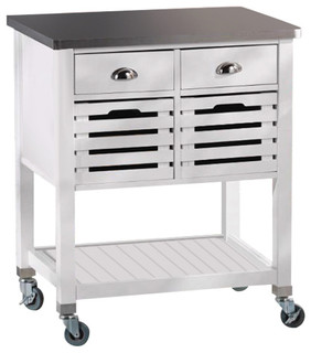 linon home decor kitchen island white mercer kitchen cart transitional kitchen islands and 13513