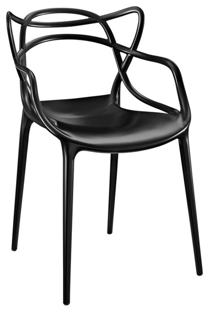 Modway Entangled Dining Armchair, Black