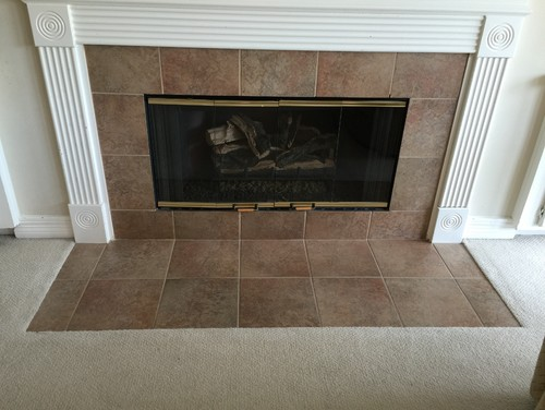 fireplace flooring