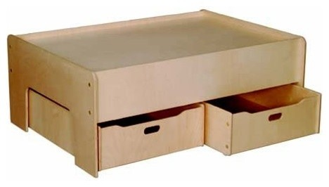 Superb Childrenu0027s Play Table With Drawers Traditional Baby And Kids