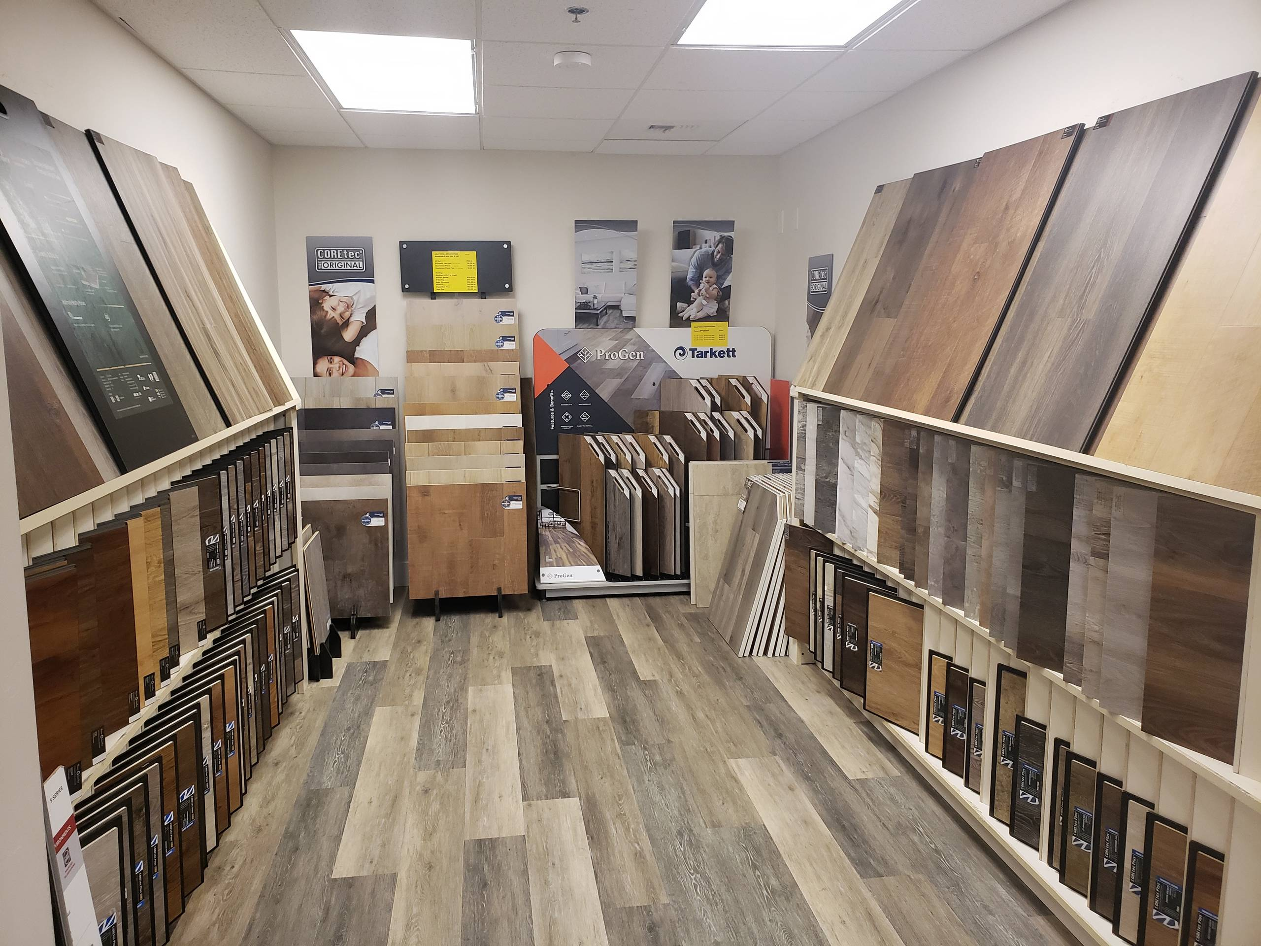 Luxury Hardwood Vinyl Plank Selection