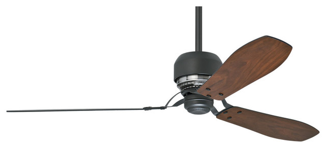 Casablanca 60 Tribeca Great Room Graphite Ceiling Fan With Wall Control.