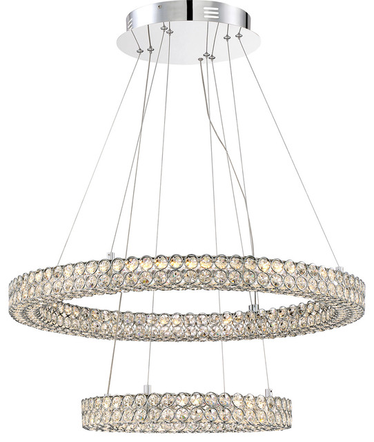 Quoizel Platinum Collection Infinity Pendant - Polished Chrome.