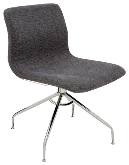 Contemporary Office Chair alta office chairnuevo living, grey - contemporary - office