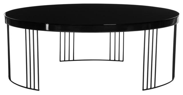 Keelin Mid Century Scandinavian Lacquer Coffee Table