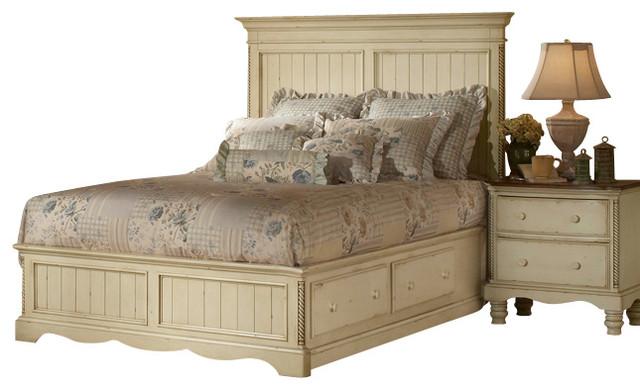 Hillsdale Wilshire 5 Piece Panel Storage Bedroom Set in
