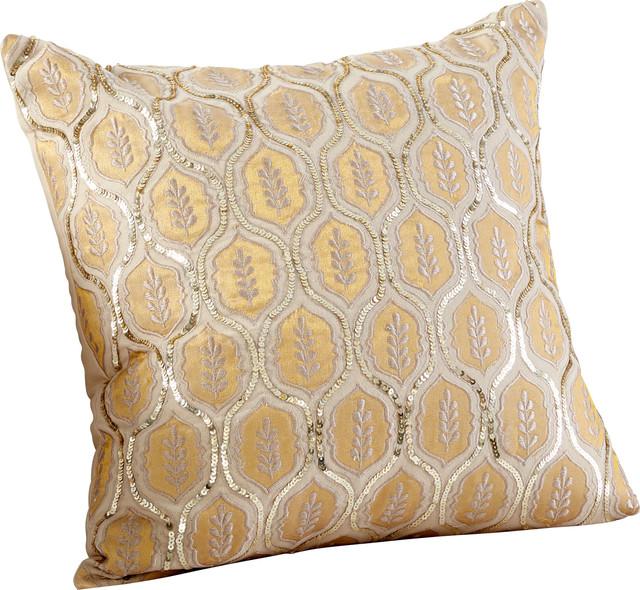 Indian Summer Pillow, Gold
