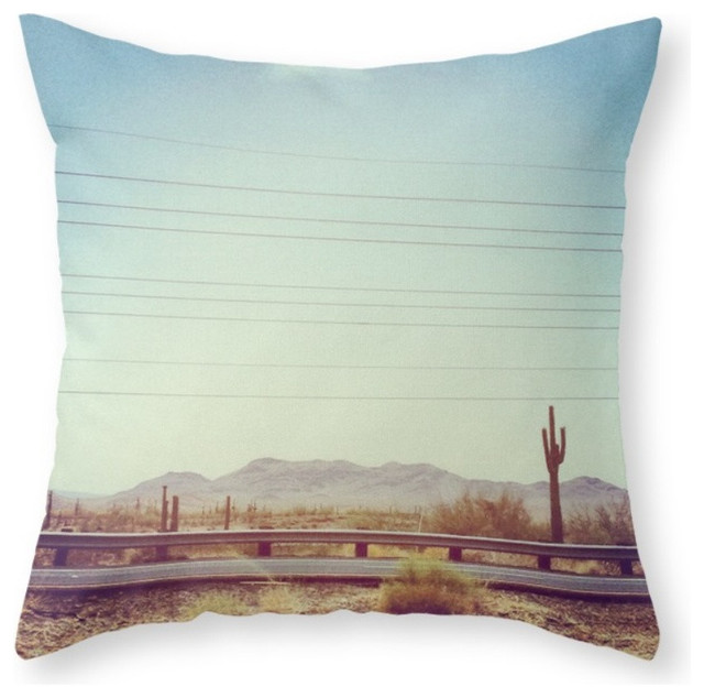 Southwestern Print Throw Pillows : Society6 Desert, Throw Pillow - Southwestern - Decorative Pillows - by Society6