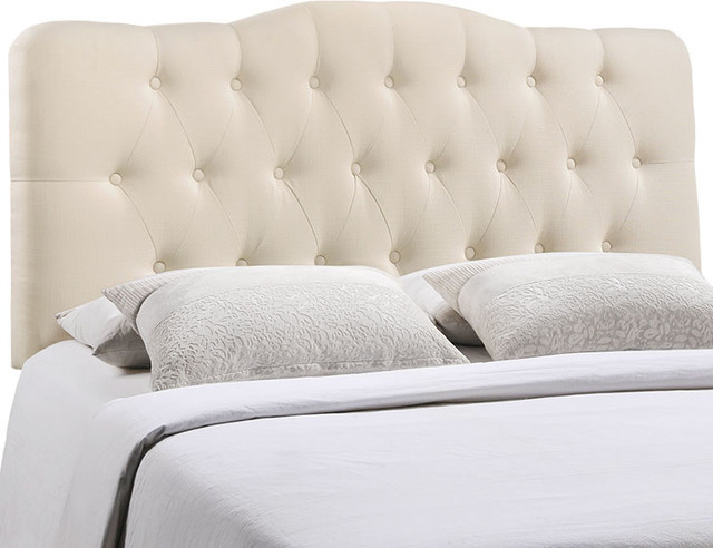 Annabel Full Tufted Upholstered Fabric Headboard