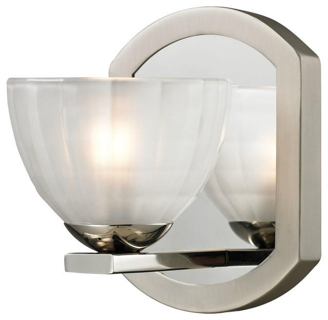 Houzz Bathroom Lighting Fixtures: Elk Lighting Sculptive 1-Light Bathroom Lighting Fixture