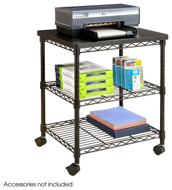 Desk Side Wire Machine Stand.
