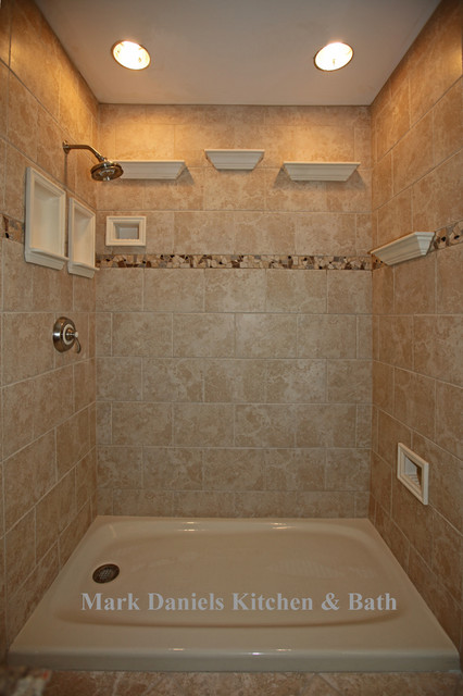 Recessed Bathroom Tile Niches Traditional DC