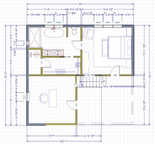Master bathroom addition floor plan for Master bathroom addition floor plans