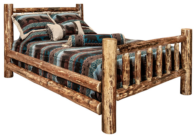 Glacier Country Collection Full Log Bed