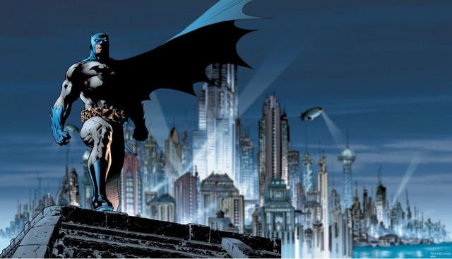 Batman Gotham Guardian DC Comics Wallpaper Mural