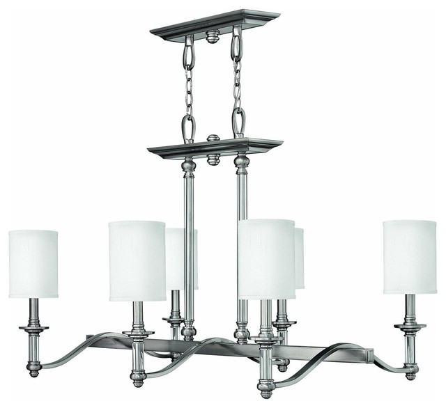 4796bn sussex island light brushed nickel contemporary