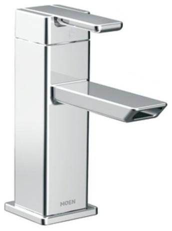 Moen 90 Degree 1 Handle Low Arc Bathroom Faucet